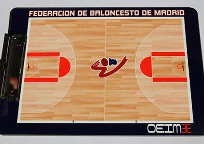 Federacion baloncento de Madrid